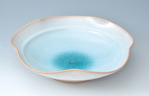 萩焼 ソライロ 花鉢