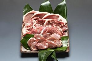 パンを食べて育ったむつみ豚のとんかつセット(30,000円コース)