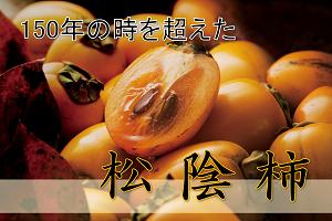 【150年の時を超えた】松陰柿