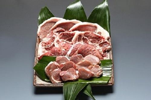 [№5226-0371]パンを食べて育ったむつみ豚のとんかつセット1.2kg(2万円コース)