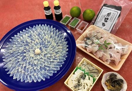 [№5226-0378]ふぐ料理6人前セット【配達不可:離島】