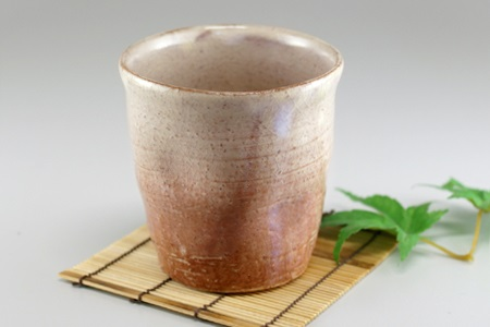 [№5226-0332]萩焼 焼酎カップ