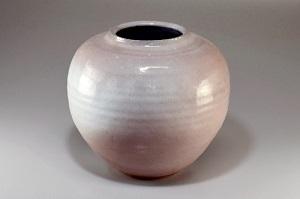 萩焼 窯変花瓶