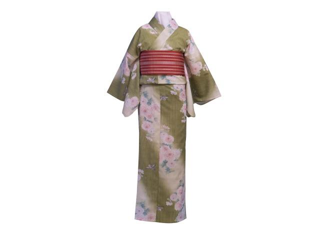 レンタル浴衣を着て萩の町を散策 浴衣体験(女性)