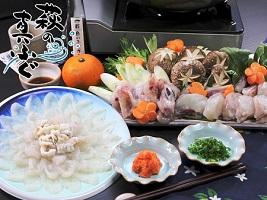 [№5226-0403]萩の真 ふぐ 刺身と鍋用 切り身【冷蔵】※配送不可:離島