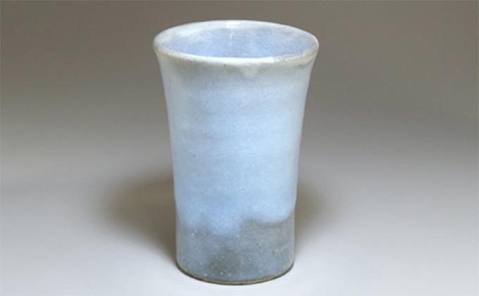 [№5226-0333]萩焼 蒼のフリーカップ