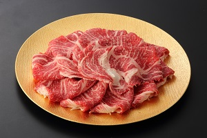 【数量限定!】見蘭牛リブロースすき焼用