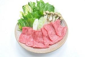 長萩和牛すき焼き (カタ又はモモ)