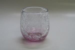 萩ガラス 耐熱ロック丸グラス