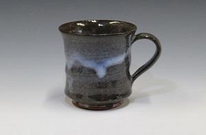 [№5226-0235]萩焼 マグカップ(青釉)